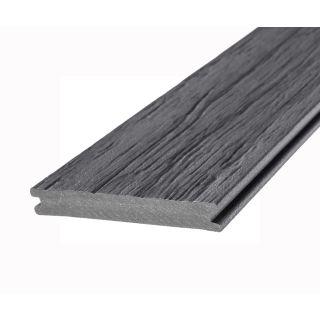 Eva-Last 100402 20x140mm Infinity HD Reversible Composite Decking Grooved Board - Mossel Bay Grey (4.8m lengths)