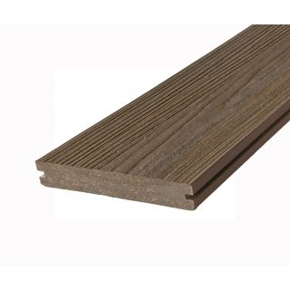 Eva-Last 100493 20x140mm Infinity HD Reversible Composite Decking Grooved Board - Tiger Cove (4.8m lengths)