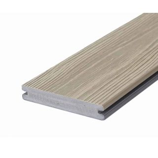 Eva-Last 100569 24x140mm Apex HD Single Sided Composite Decking - Amarillo Oak (4.8m lengths)