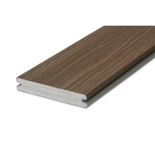 Eva-Last 100571 24x140mm Apex HD Single Sided Composite Decking Board - Thermo Ash (4.8m lengths)