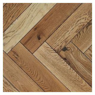 PAR3007 20x100x500mm Dulwich Limed Oak Engineered Wooden Parquet T&G Flooring UV Oil Finish (0.5m²/pack)