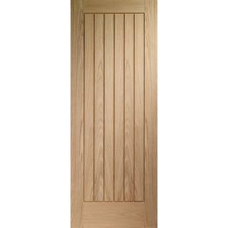 1981x686x35mm (27) XL Joinery Suffolk Essential Oak Door (EOSUF27)
