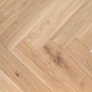 PAR3002 20x100x500mm Shrewsbury Oak Engineered Wooden Parquet T&G Flooring UV Oil Finish (0.5m²/pack)
