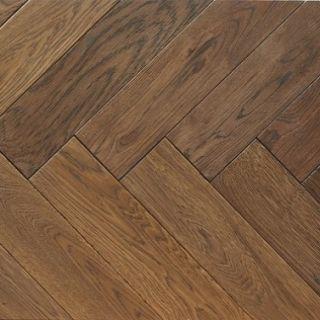 PAR3009 20x100x500mm Westminster Oak Engineered Wooden Parquet T&G Flooring UV Oil Finish (0.5m²/pack)