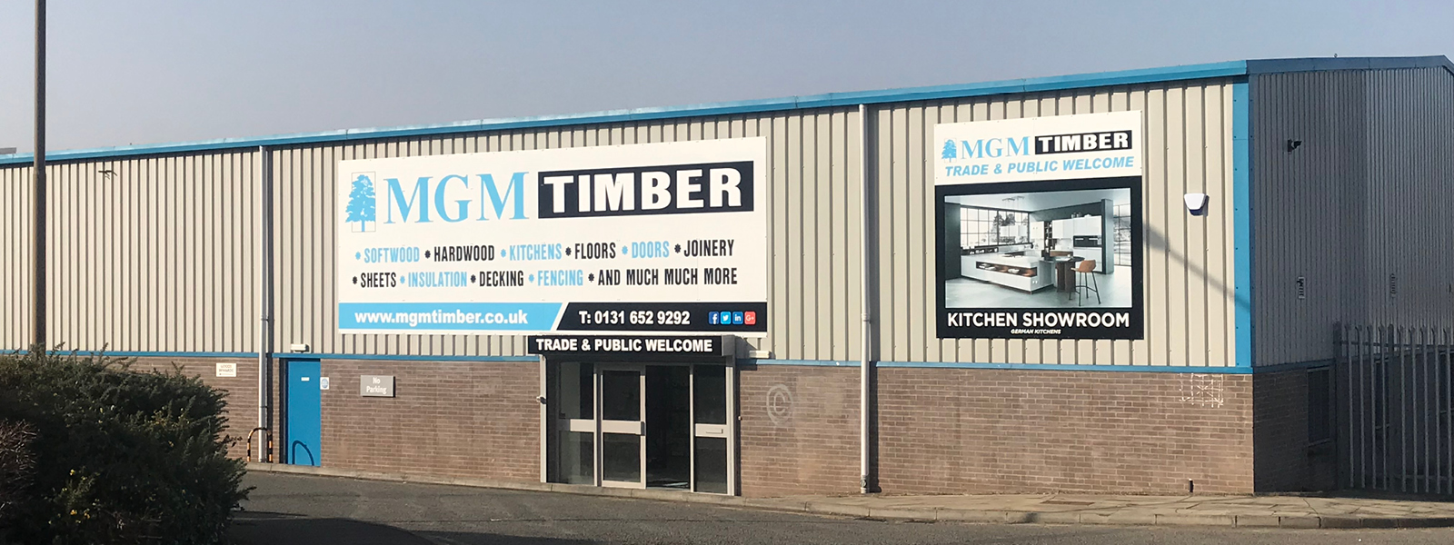 MGM Timber Opens a New Branch in Edinburgh City